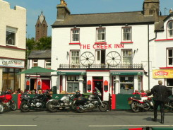 A pub near the TT track, Isle of Man, Ramsey