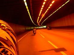 Riding Through a Dark, Dimly Lit Tunnel