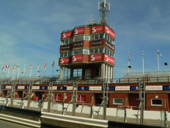 The grandstand - Isle of Man