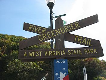 West Virginia State Park Sign, Marlinton
