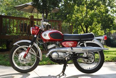 Kim's '67 Suzuki