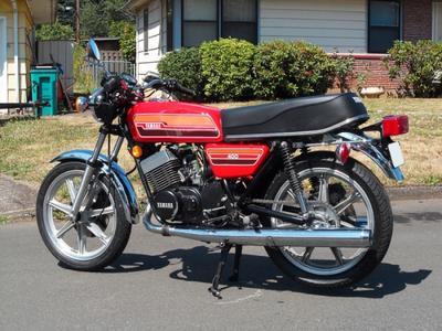 '76 Yamaha RD400C
