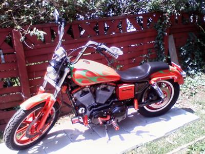 1994 Harley Sportster 883 Hugger