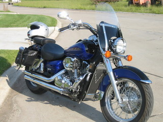 04 Honda Shadow Aero