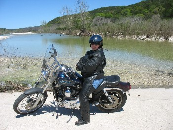 Ol' Betsy and Me on our 2nd trip to the Hill Country