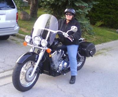 My Honda 750 Shadow Aero