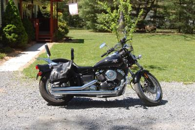 2007 Yamaha VStar Midnight Custom