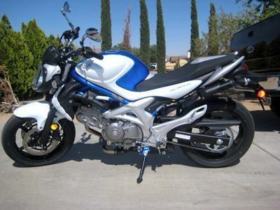 My 2009 Suzuki Gladius
