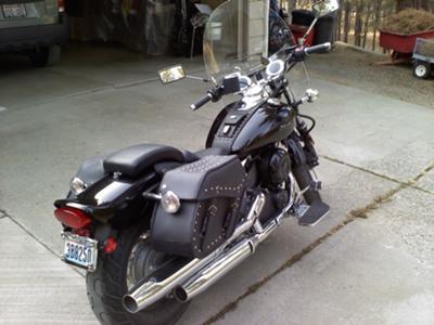 2009 Yamaha V Star 650 Custom