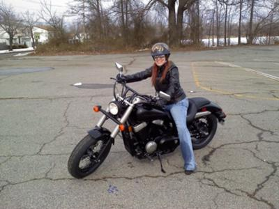 Exceptional Her Motorcycle