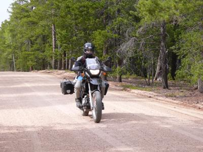 Rampart Range Road - 40 straight miles of gravel