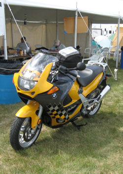 Her-Motorcycle Limited Edition BMW at 2007 Rally