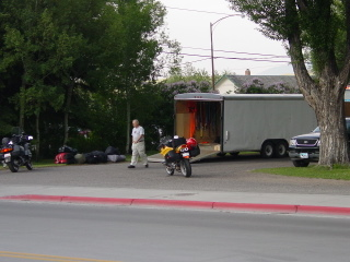 Used Motorcycle Trailer