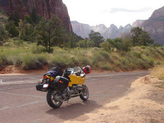 My 1100 S BMW Somewhere in Utah