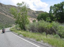 Great roads for motorcycling in Idaho
