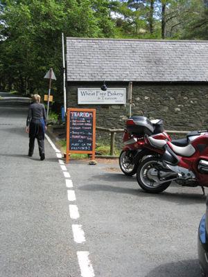 Roadside Motorcycle Rest Stop