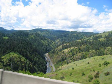 Motorcycling through Idaho