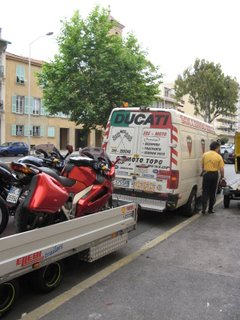 Shipping a Motorcycle