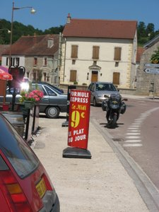 France - the Plat duJour is usually wonderful, cheap food!
