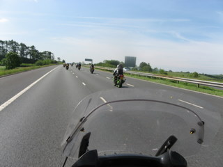 Highway riding