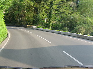 Sunshine, dry roads and an approaching curve.