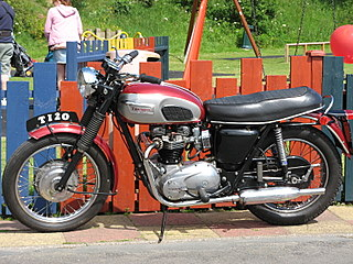 Really nice vintage motorcycle