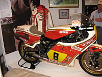 Some leathers actually worn by a TT participant.