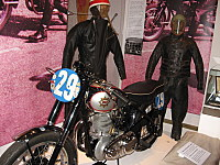 Vintage TT motorcycles at the Manx Museum