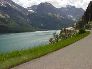 A great road for motorcycling- The Lewis and Clark Trail
