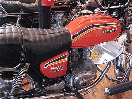 Vintage Honda Motorcycle - Honda Hawk