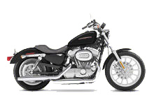 Harley Davidson Sportster - the most popular motorcycle