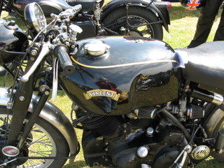 Another nice older motorcycle, obviously well-cared for.