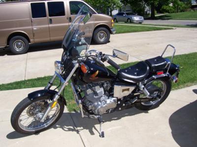 Our 1985 Honda Rebel