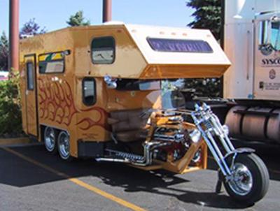Motorcycle RV