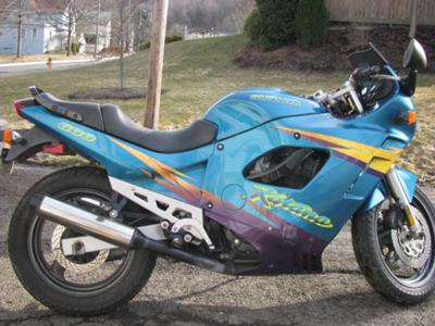 My Old School Suzuki Katana