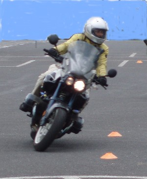 Me, in the Advanced Riders Clinic