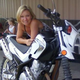 Brenda's 08' Yamaha xt250