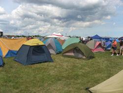 Motorcycle Camping at BMW Rally