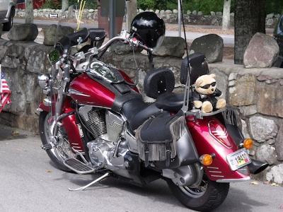 Candy Apple Red Honda VTX 1300