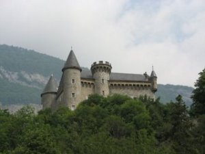 A real life castle in France