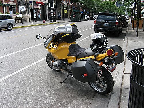 Motorcycle Commuting