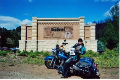 Ahhh, South Dakota While Doing  Harley Davidson's ABC's of Touring in 2004