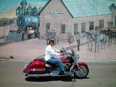 Big Red in Holbrook, AZ