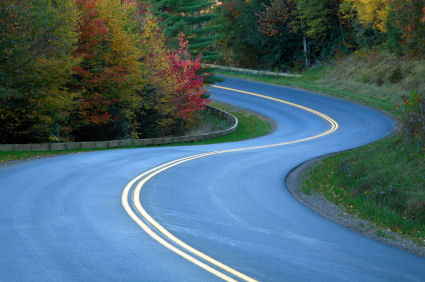 Twisty, Windy Road for Motorcycle Riding