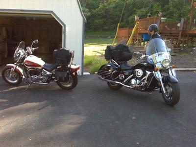 How Our Bikes Looked Day One