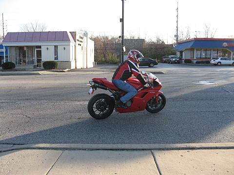 Her-Motorcycle, Ducati leaving motorcycle dealer