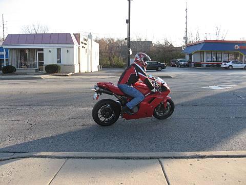 Her-Motorcycle, Ducati leaving motorcycle dealer