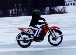 Icebike, Honda 450