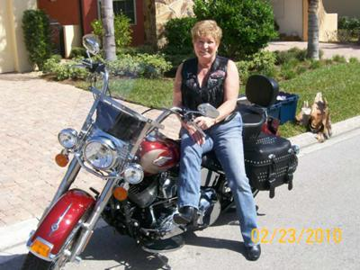 Lovin' My New Harley