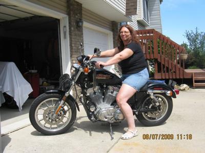 My Harley Davidson Sportster 883